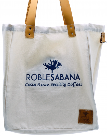 Roblesabana Coffee Canvas Tote